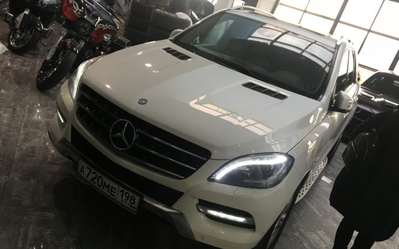 Осмотр Mercedes-benz ML 350 (W166)