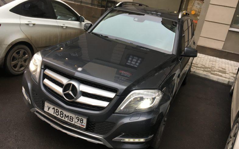Проверка перед покупкой Mercedes GLK-class (X204) 2012 года.