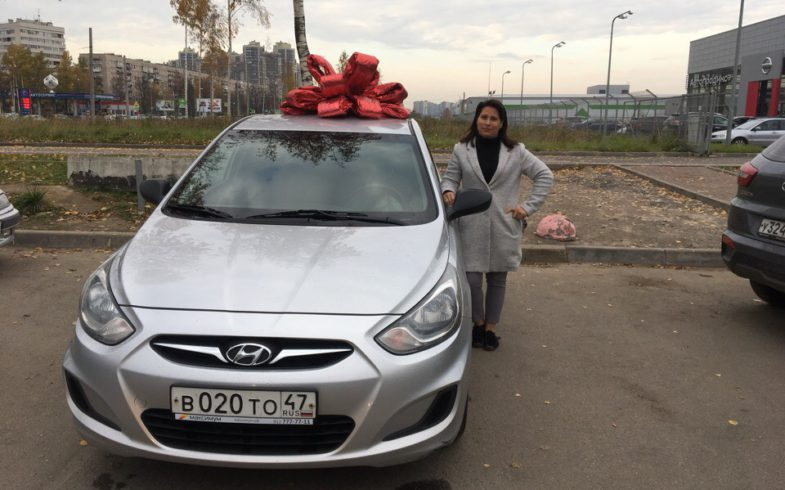 Подобран Hyundai Solaris 2012