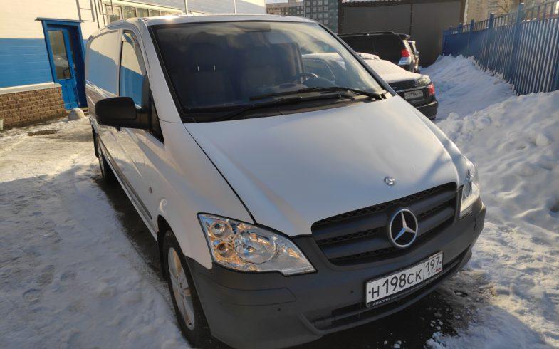Проверка перед покупкой Mercedes Vito 2011г