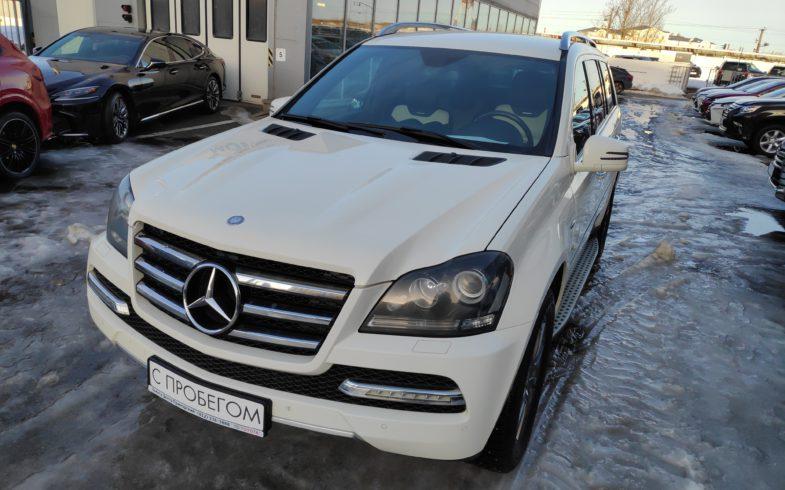 Проверка перед покупкой Mercedes GL 350 (W164) 2012г