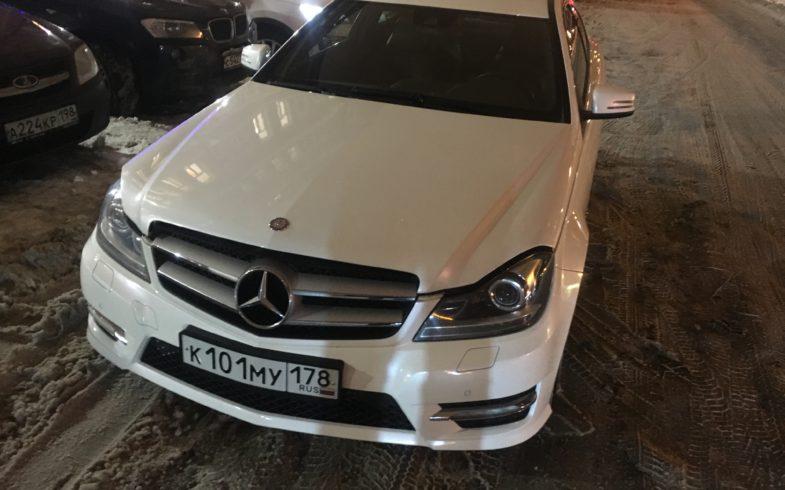 Проверка перед покупкой Mercedes Benz C class. 1,8 (W204)