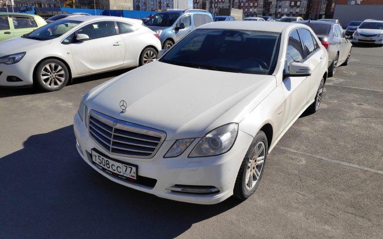 Подобран Mercedes E-class (W212) 2013 года