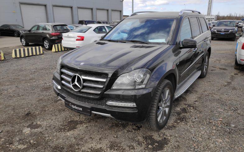 Проверка перед покупкой Mercedes-Benz GL 350 (W164)