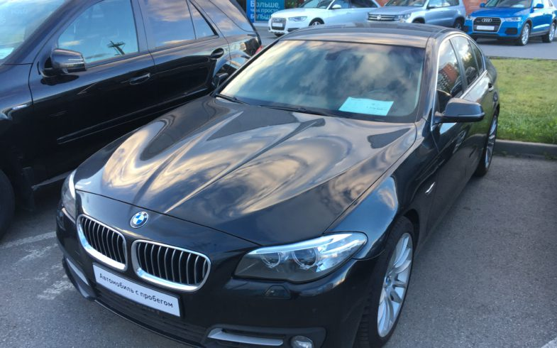 Проверка перед покупкой BMW 5-series (F10)
