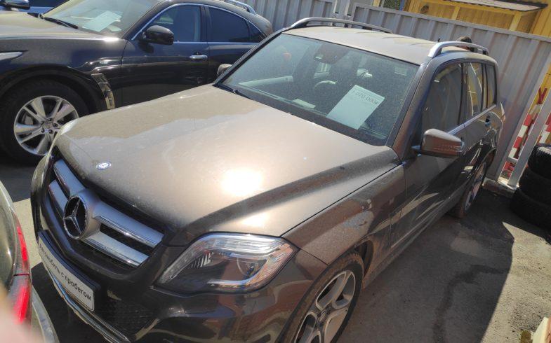 Проверка перед покупкой Mercedes GLK-class (X204) 2013 года. Дизель.