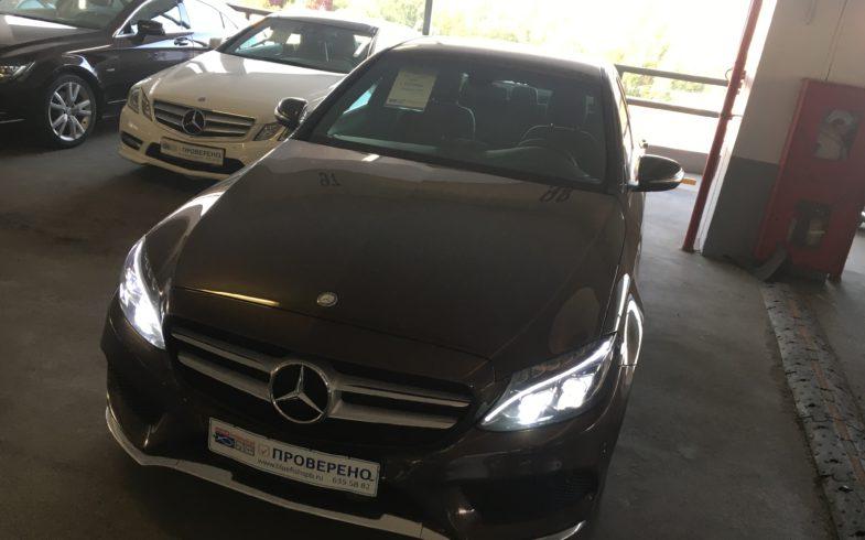 Проверка перед покупкой Mercedes C-classe (W205) 2015г