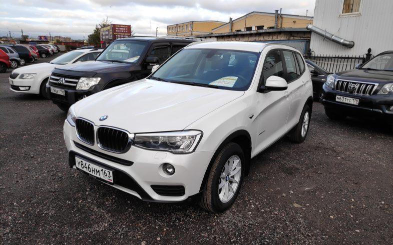 Проверка перед покупкой BMW X3 (F25)